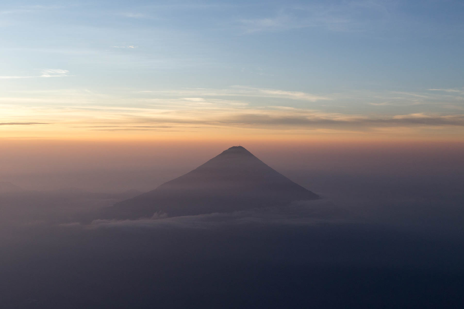 Sunrise at Volcán Acatenango